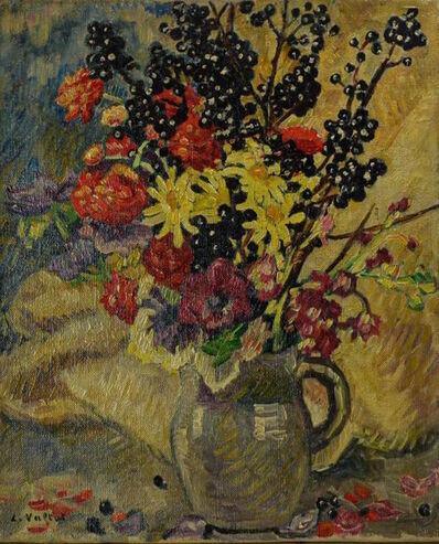 Louis Valtat, 'Bouquet aux branches de cassissier', ca. 1921