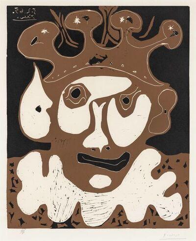 Pablo Picasso, 'Tête de Bouffon, Carnaval (Jester's Head, Carnival)', 1965