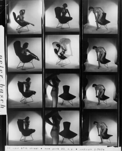 Peter Basch, 'untitled contact sheet (169 B)', ca. 1960