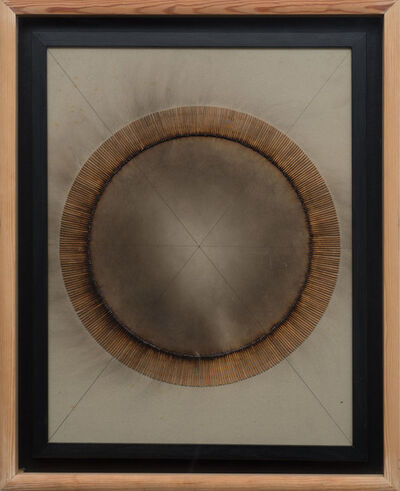 Bernard Aubertin, 'Allumettes Entièrement Brûlées', 1974