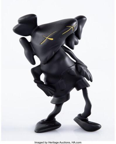KAWS X Robert Lazzarini, 'Companion (Black)', 2010