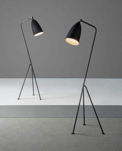 Greta Magnusson Grossman, 'A pair of 'Grasshopper' standard lamps', designed 1947