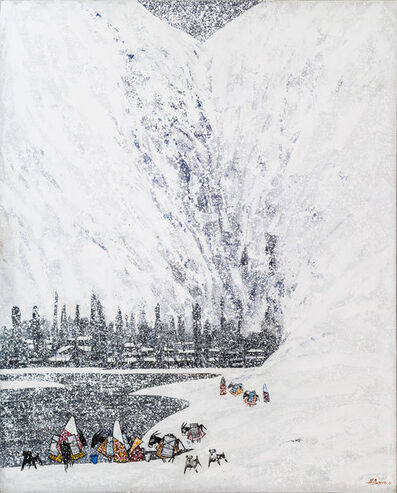 Farrukh Negmatzade, 'Winter in mountains', 2016