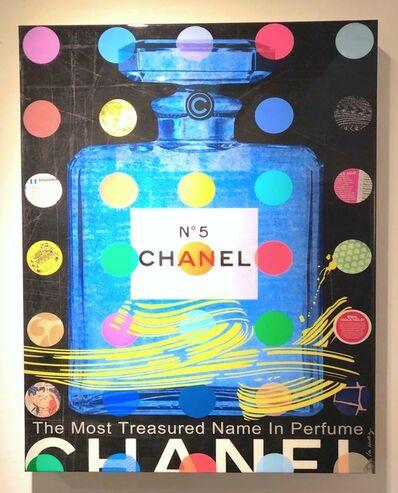 Nelson De La Nuez, 'Chanel N°5 black (Chanel Number 5)', 2014