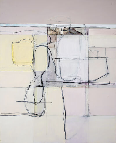 John Waller, 'Abstraction Landscape and Figure', 2019
