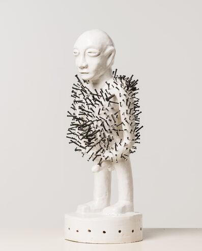 Dimitri Fagbohoun, 'Alàfo riri (Fétiche à clous)', 2015
