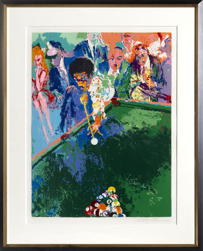 LeRoy Neiman, 'Black Break', 1973