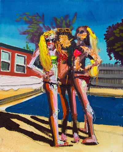 Alejandro Carpintero, 'Untitled (three girls by a pool)', 2018