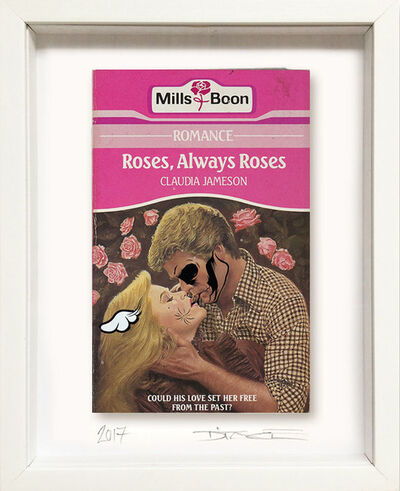 D*Face, 'Roses, Always Roses', 2017