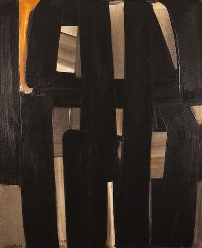 Pierre Soulages, 'Peinture 92 x 73 cm, 3 avril 1974', 1974