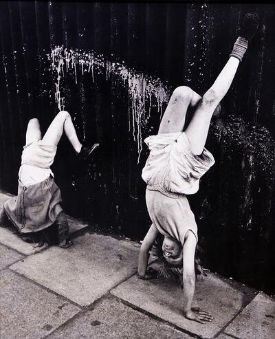 Roger Mayne, 'Handstand, Southam Street, London', 1956