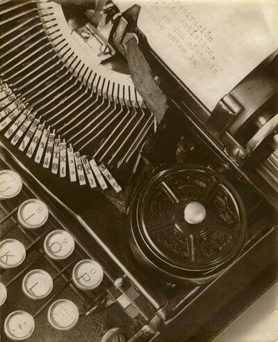 Tina Modotti, 'Mella's Typewriter', 1928