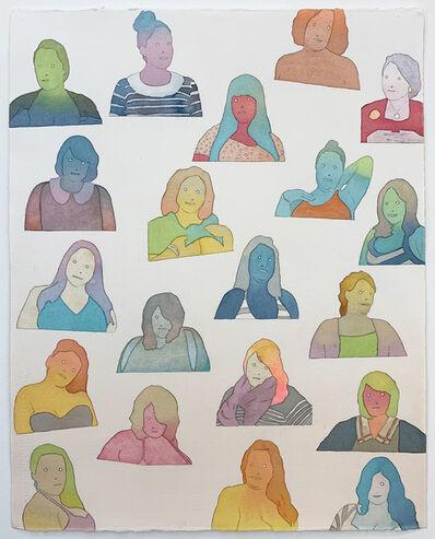 Dan Gluibizzi, '20 women', 2014