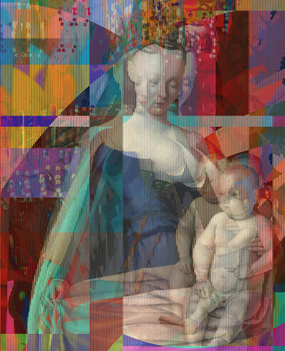 Pınar DU PRE, 'Virgin and Child Surrounded by Angels, Showing Charles VII's Mistress', 2019