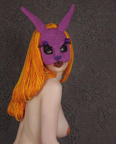 Olek, 'A Tale of Two Bunnies 02'