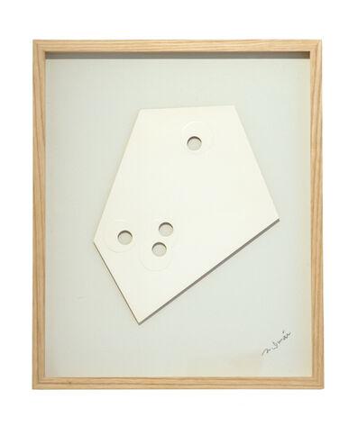 Norio Imai, 'White Piece-A', 1966
