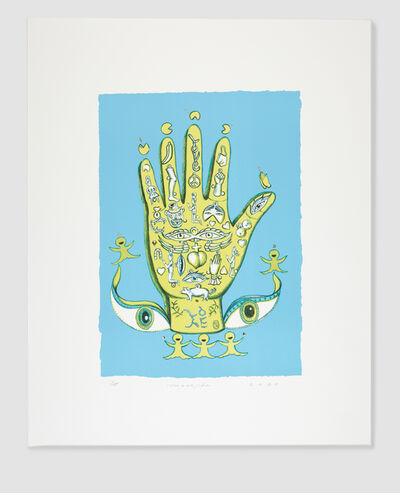 Jiha Moon, 'Magic Hand (Yellow)', 2020