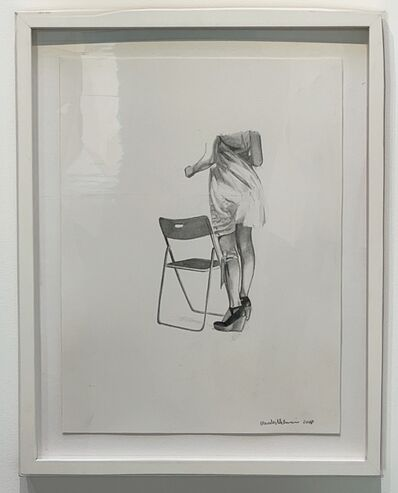 Mercedes Helnwein, 'Chair and legs', ca. 2010