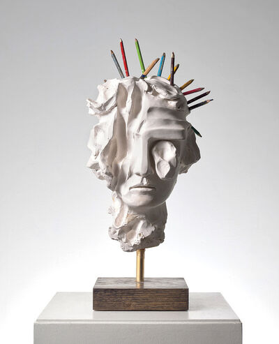 Kevin Francis Gray, 'Greek Girl (Pencils)', 2019