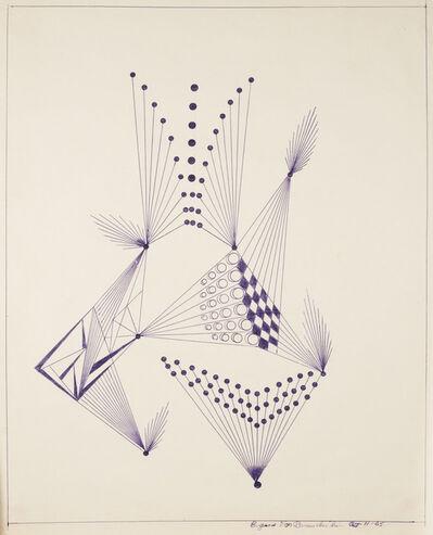 Eugene Von Bruenchenhein, 'Untitled (11–65)', 1965