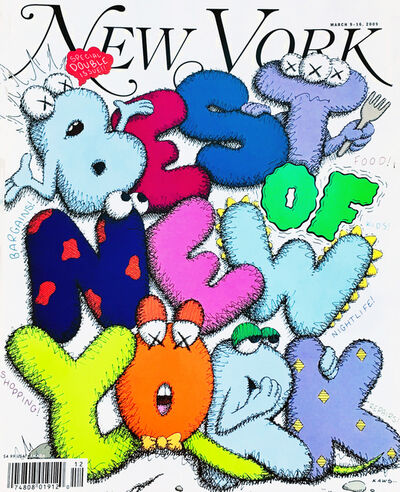 KAWS, 'KAWS Cover Art 'New York Magazine, 2009', 2009