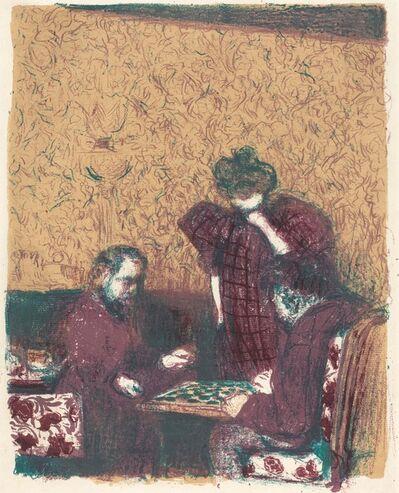Édouard Vuillard, 'Game of Checkers (La partie de dames)', 1897/1898 (published 1899)
