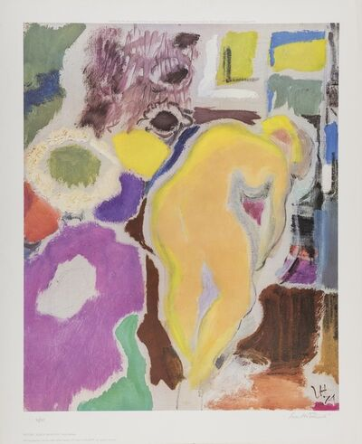 Ivon Hitchens, 'Figure, Early Morning.'