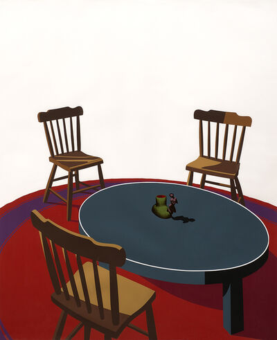 Ken Price, 'Chairs, Table, Rug, Cup (Interior Series)', 1971
