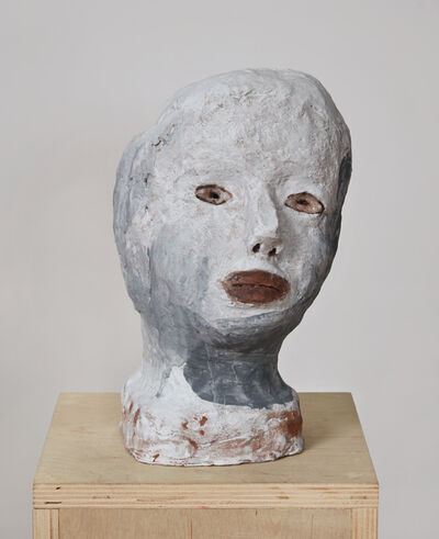 Elise Siegel, 'Gray and White Head ', 2018
