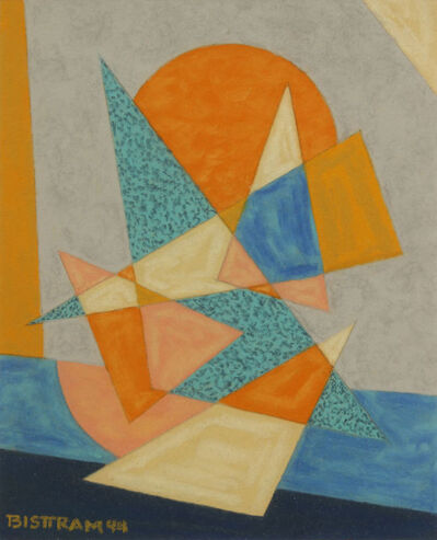 Emil Bisttram, 'Triangle and Sun', 1944