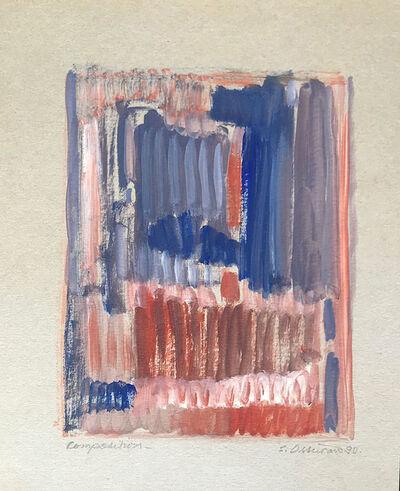 Samia Osseiran Junblat, 'Composition (3)', 1990