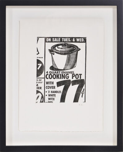 Andy Warhol, 'Cooking Pot', 1963