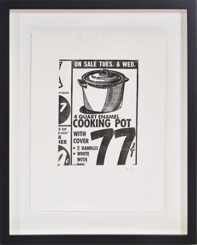Andy Warhol, 'Cooking Pot', 1963