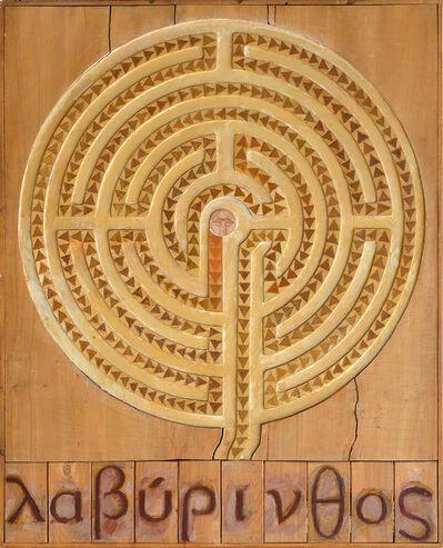 Joe Tilson, 'Labyrinth 'Caerdroia'', 1973