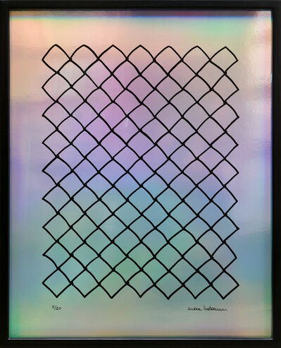 Mona Hatoum, 'Untitled (Fence, Mirrored).', 2018