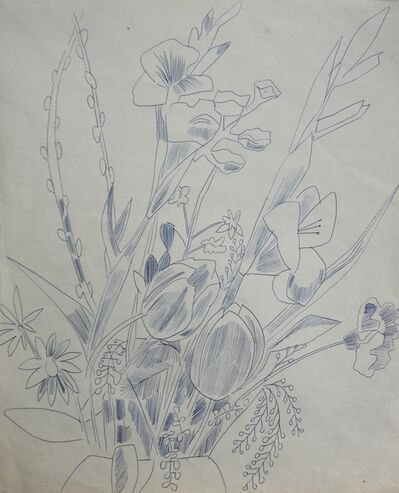 Andy Warhol, 'Untitled (Still Life Flowers)', ca. 1956