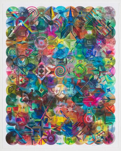 Wu Jian'an 邬建安, '154 Color Balls (Heart Shape) 154颗彩色圆球(心形)', 2018