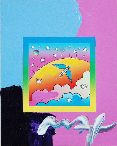 Peter Max, 'Angel Clouds on Blends (Ref. # 397)', 2007