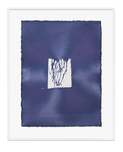 Jason Martin, 'Untitled (Indigo)', 2020