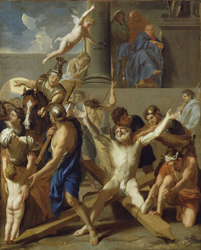 Charles Le Brun, 'The Martyrdom of St. Andrew', 1646 -1647