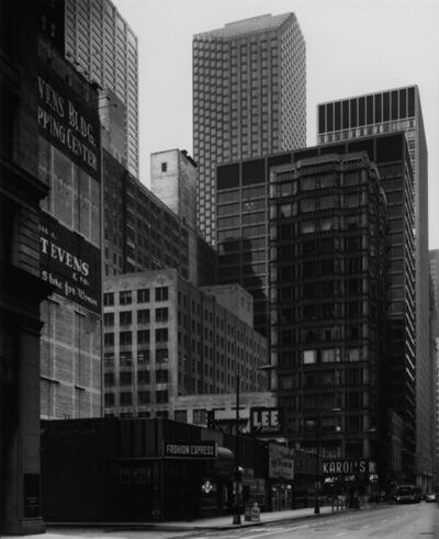 Thomas Struth, 'Washington Street / Reliance Building, Chicago 1990', 1990