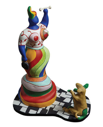 Niki de Saint Phalle, 'Nana et Chien', 1986