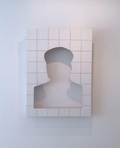 Zhang Hongtu, 'Tile Mao', 1992