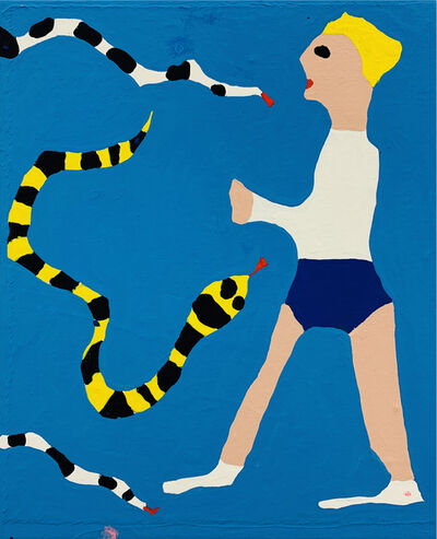 James Ulmer, '3 Snakes 1 Man', 2018