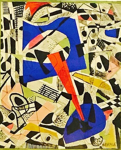 Rolph Scarlett, 'Untitled Collage Painting', ca. 1950