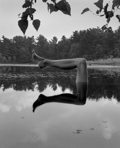 Arno Rafael Minkkinen, 'Self-portrait, Fosters Pond, Andover, Massachusetts', 1999