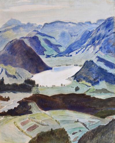 Erich Heckel, 'Lake between Mountains, Kärnte   See zwischen Bergen (Kärnten)', 1941