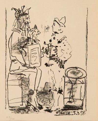 Pablo Picasso, 'Les Saltimbanques (The Tumblers) from Souvenirs d'un collectionneur', 1958