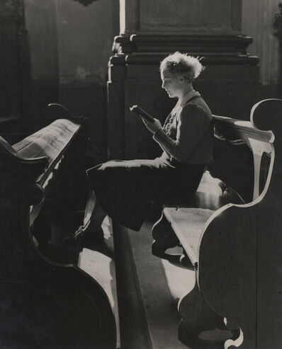 Elisabeth Hase, 'Untitled (Women reading in church)'