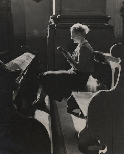 Elisabeth Hase, 'Untitled (Women reading in church)'